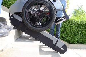 Scalevo Rollstuhl Trepopensteigen